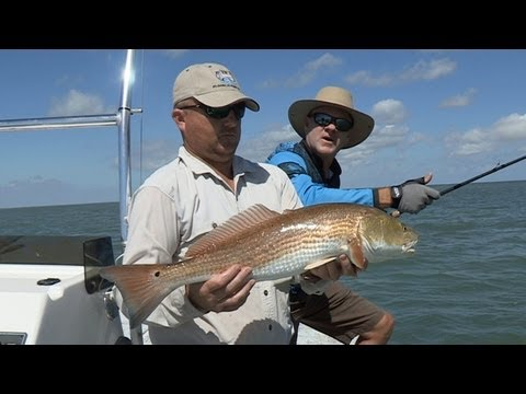 South Padre TX Redfishing Southwest Outdoors Report #34 - 2012 Season