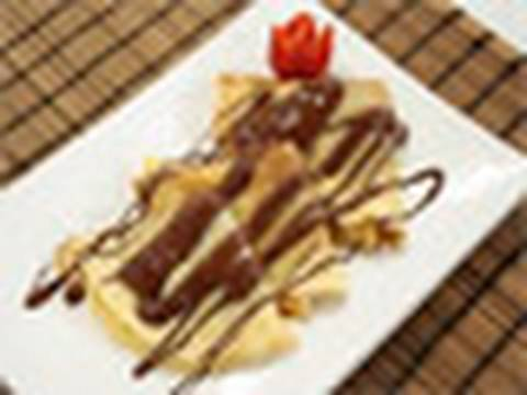 Crepes de plátano y chocolate Receta Mira la Vida