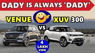 Hyundai Venue vs XUV 300 🔥 Dady is always Dady 🔥 Venue suv vs mahindra xuv 300 | ASY