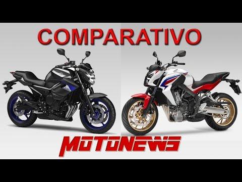COMPARATIVO YAMAHA XJ6-N x HONDA CB-650F - MOTONEWS