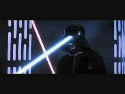 Obi Wan vs Darth Vader Star Wars Episode IV A New Hope