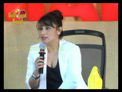 Trailer launch of Rani Mukerji's film ''Mardaani''