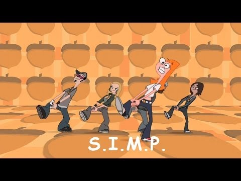 Phineas and Ferb Musical Cliptastical Countdown - S.I.M.P. (Squirrels In My Pants) Extended Lyrics