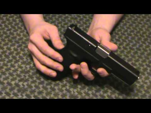 Glock 20 SF 10mm Upgrades: Tungsten Guide Rod, Conversion Barrel, and Custom Slide Cover Plate