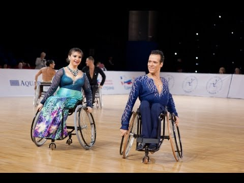 Ballroom dancing in a wheelchair feels like floating through the clouds, ken faber says