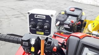 Rammy Snowblower 120 ATV EC installation and user quide