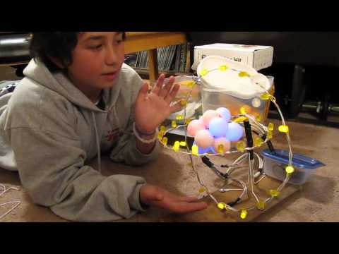 Carbon Atom Mode  Oxygen Atom Model For Kids