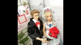 Đám cưới búp bê ken và barbie/ hoat hình búp bê Bông Hoa nhỏ Shop