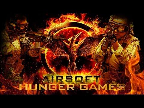 Airsoft Hunger Games Feat. Gina Darling - Airsoft Gi Gameplay video