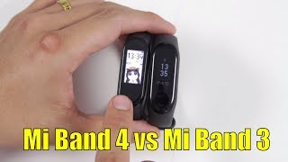 So sánh chi tiết Xiaomi Mi Band 4 với Mi Band 3 xem có đáng để nâng cấp không?