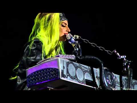 Born This Way Acoustic LADY GAGA live in Montreal last finale Born This Way Ball Tour Monster Pit