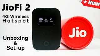 Jio JioFi 2 Wireless Portable Hotspot - Unboxing, Set-up, Demo! (All You Need to Know on JioFi 4G)