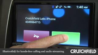Sony XAV-701HD Car DVD Receiver Display and Controls Demo | Crutchfield Video