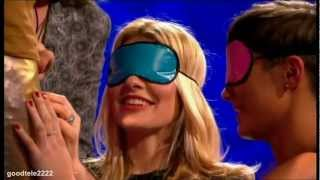 Holly Willoughby Touching Tinchy Stryder's....! - Can You Feel It? - Celebrity Juice
