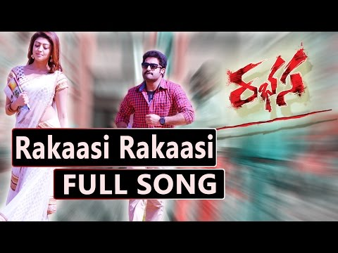 Rakaasi Rakaasi Full Song || Jr.Ntr, Samantha, Pranitha