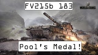 FV215b 183 Goes Mad! - Pool's Medal - World of Tanks Console ( Xbox / PS4 )