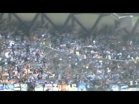Afición del Schalke en el Bernabéu (1). Real Madrid - Schalke 04 (13/14)