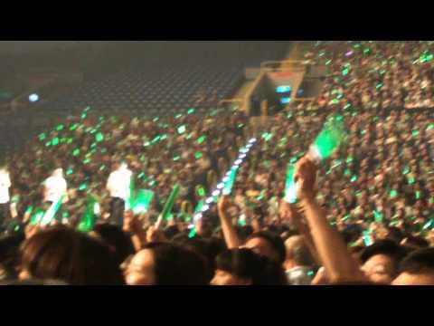 20141102 蘇打綠 10週年演唱會高雄場合唱 - 我只在乎你