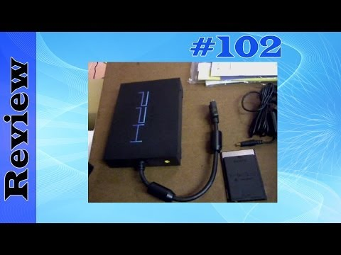 SONY PlayStation 2 BB Unit - 40GB External Hard Drive HDD & Network Card (PS2)