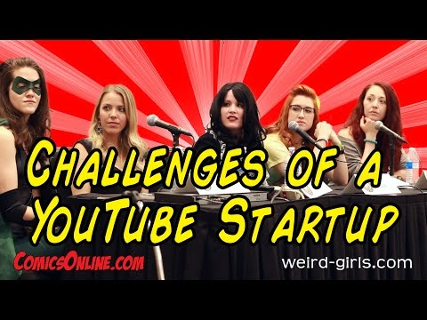 Challenges of YouTube Startup Panel - Austin Wizard World 2014