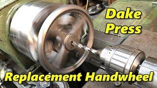 Machining a Dake Arbor Press Handwheel