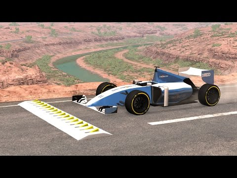 BeamNG Drive SPIKE STRIP HIGH SPEED CRASHES #77