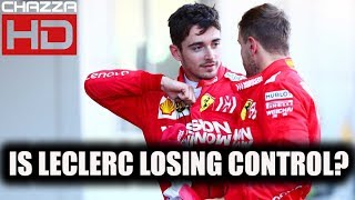 Is Charles Leclerc Losing Control? - ChazzaHDF1 Podcast #51