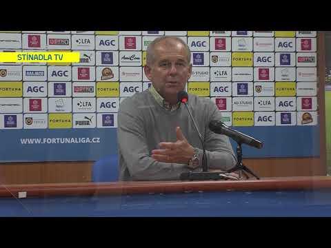 Rozhovory hostujícího týmu po utkání Teplice - Jablonec (7.6.2020)