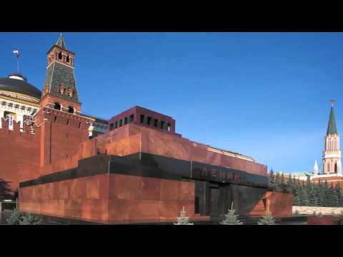 beautiful photo of Lenin's Mausoleum in Moscow  Russia
