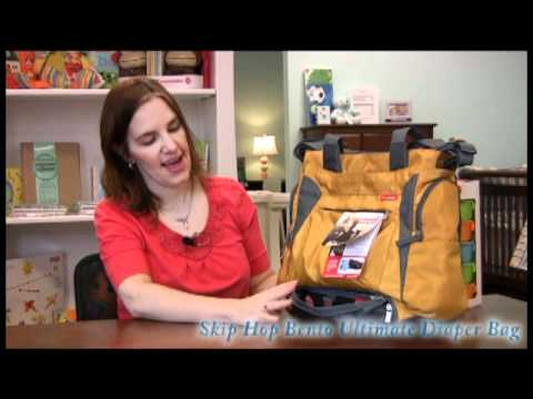 Smartmomma.com reviews the Skip Hop Bento Ultimate Diaper Bag