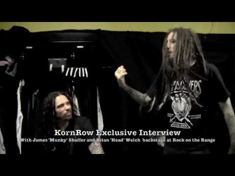 KornRow Exclusive Interview with Munky and Head of Korn