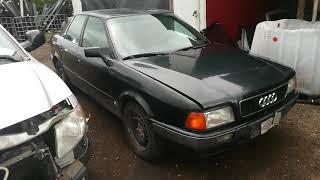 Car For Parts - Audi 80 1992 1.9L 66kW Diesel
