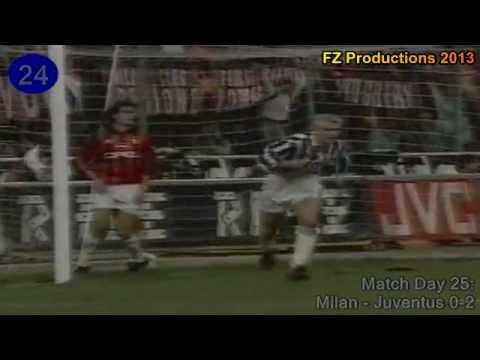Fabrizio Ravanelli - 51 goals in Serie A (part 1/2): 1-29 (Juventus 1992-1995)
