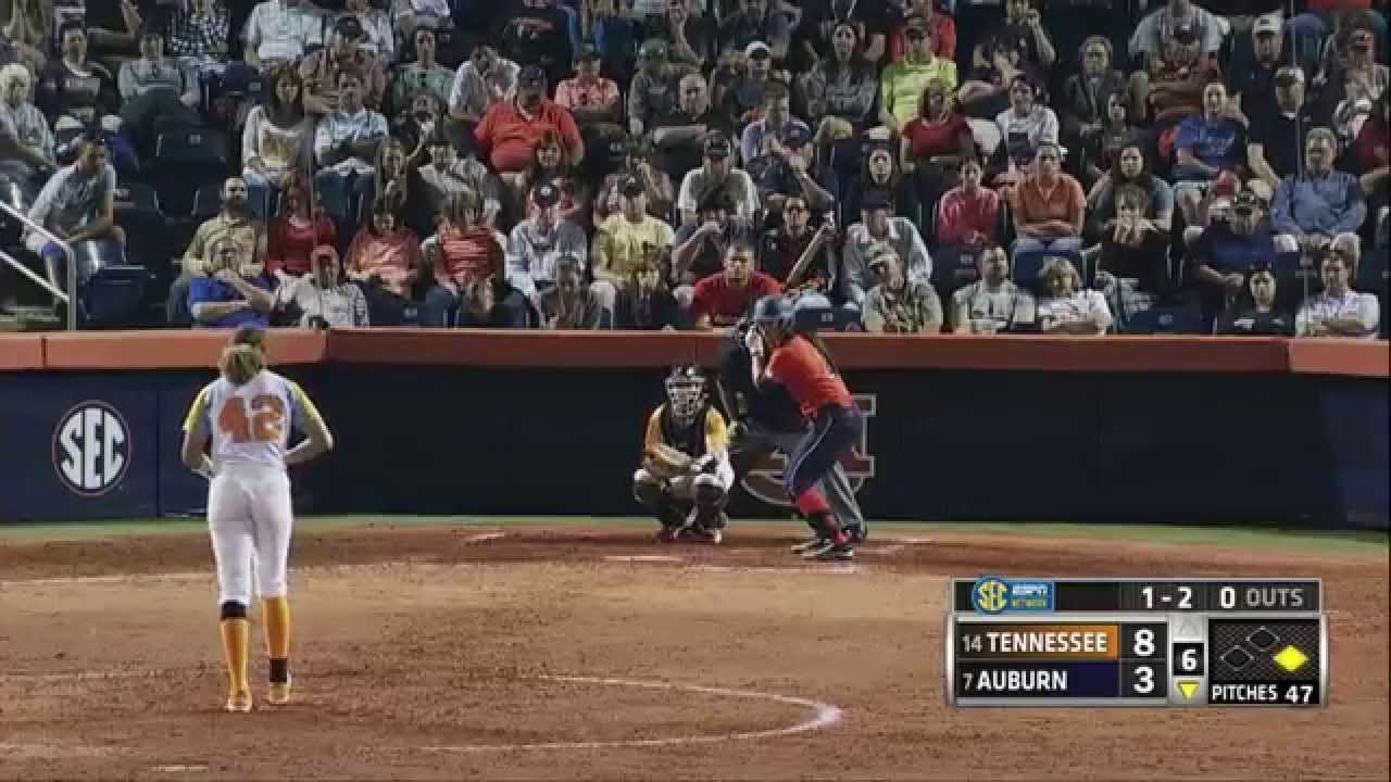 Auburn Softball vs Tennessee