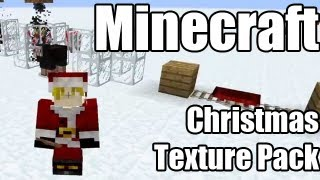 Minecraft - A Christmas themed texture pack (Updated for 1.4.6)