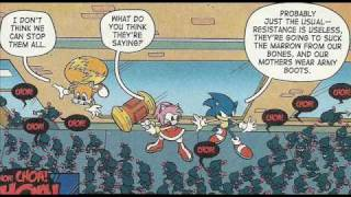 Sonic X Comic Issue 6