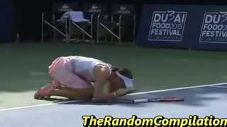Drama In Women Tennis Compilation Part 4