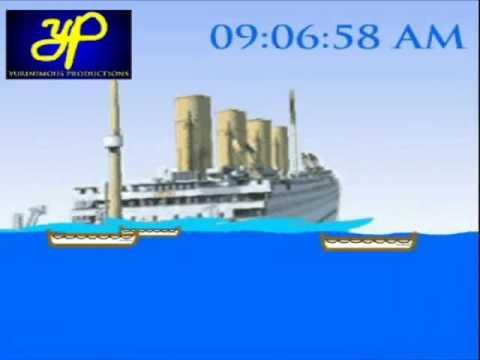 Lego Britannic Sinking Sinking of The Britannic