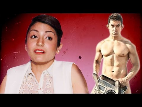 Anushka Sharma talks on Aamir Khans NUDE PK POSTER