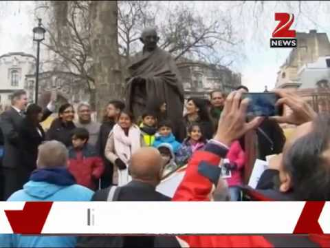 London: Historic Gandhi statue unveiled at Parliament Square