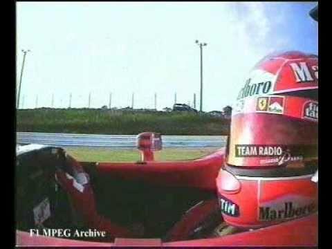 Schumacher's team radio - Suzuka 2001