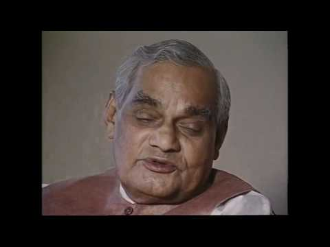 Atal Bihari Vajpayee  Interview by Tavleen Singh  Part -1
