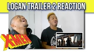 Logan | Trailer 2 [HD] | 20th Century FOX REACTION!!