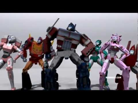 Psy - Gangnam Style () Ft. Transformers video