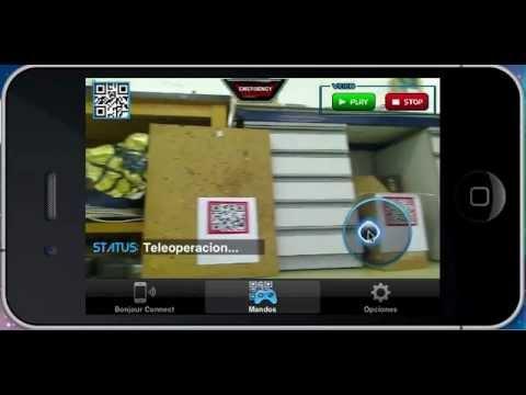 PFC ITIS USAL: QrNav, Navegación de un robot a través de códigos QR (SOLO iPhone)