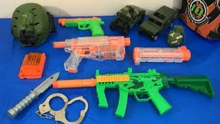 Box of Toys Toy Guns NERF Guns Military Toys Toy Weapons Army Toys Kids Fun