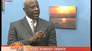 Fuel Subsidy Debate with Emmanuel Iheanacho Pt.1