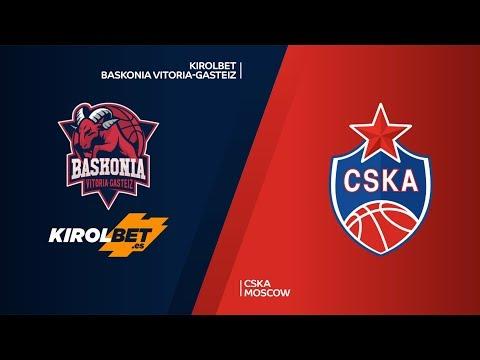 KIROLBET Baskonia Vitoria-Gasteiz - CSKA Moscow Highlights   Turkish Airlines EuroLeague PO Game 3