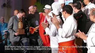 CHEF MOHA - THE DC EMBASSY CHEF CHALLENGE - كأس عالم السفارات للطبخ