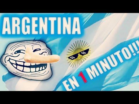 ARGENTINA EN 1 MINUTO